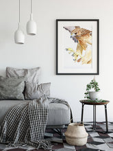 Load image into Gallery viewer, Hawk - Watercolour Fine Art Print