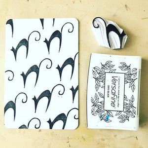 Witch rubber stamp set, halloween stamp set, halloween craft set, black cat stamp, witch shoe stamp, rubber stamp set, spooky craft set