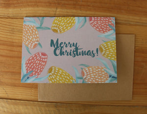 Australian Christmas Card Set, Greeting Card Set, Original Illustrated Christmas Card Set