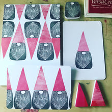 Load image into Gallery viewer, Tomten - Handmade Rubber Stamp Set