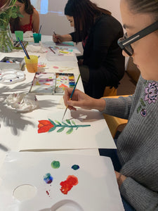 Welcome to Watercolour - Beginners watercolour class, March 14