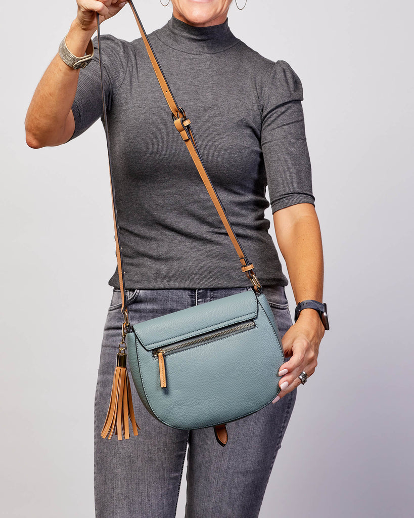 Load image into Gallery viewer, ANDREA CROSSBODY BAG - SLATE