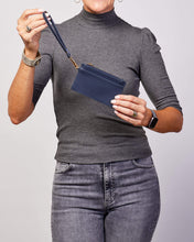 Load image into Gallery viewer, LOUENHIDE TAHLIA CARDHOLDER - NAVY