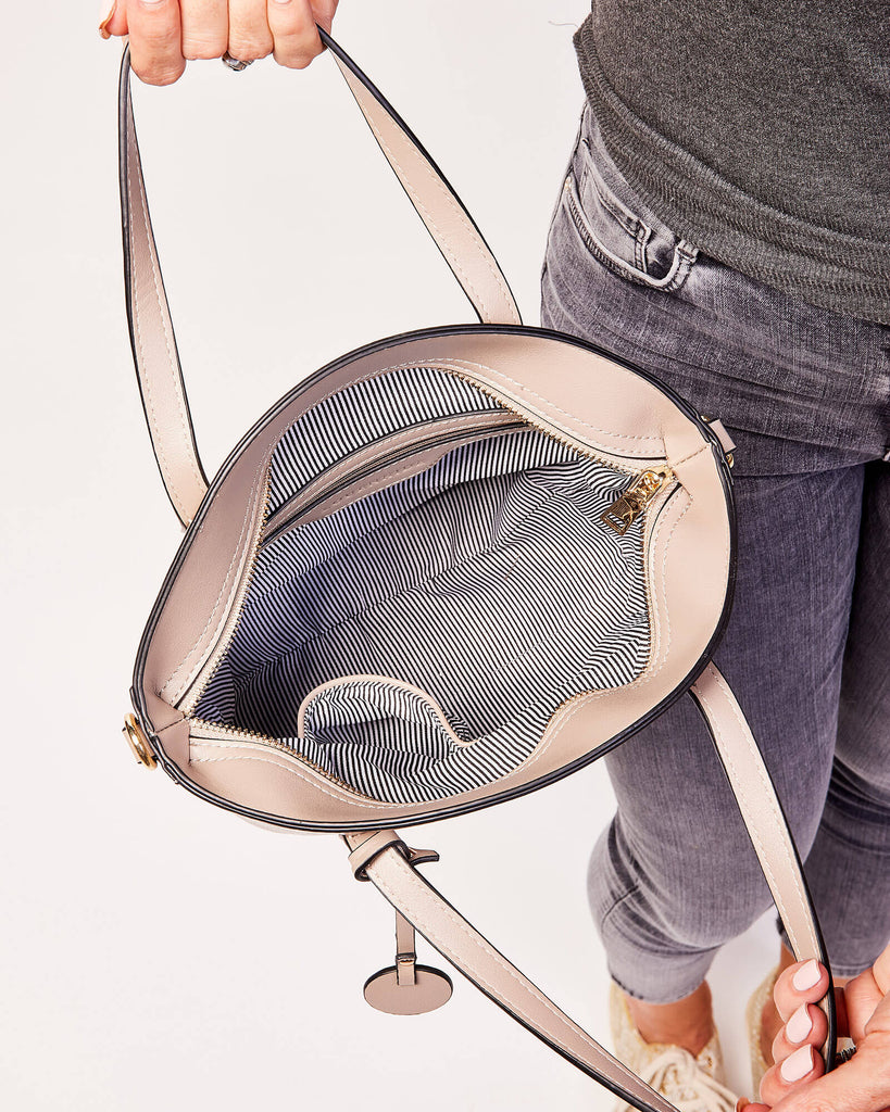 Load image into Gallery viewer, LOUENHIDE LATROBE TOP HANDLE BAG - LIZARD MOUSE
