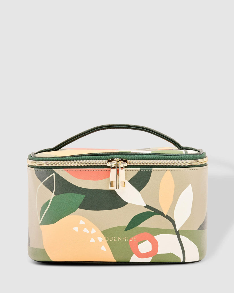 Load image into Gallery viewer, LOUENHIDE - ONTARIO COSMETIC CASE - LEMON MYRTLE