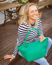 Load image into Gallery viewer, LOUENHIDE BABY SWITCH TOTE BAG -  GREEN