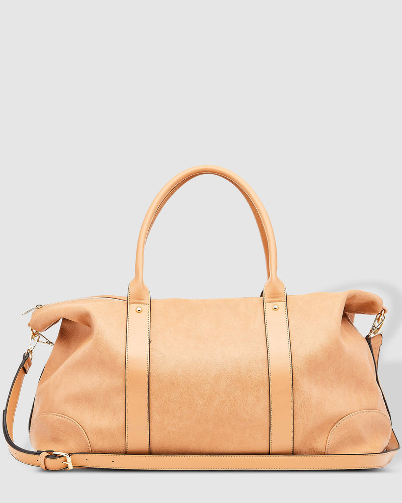 Load image into Gallery viewer, LOUENHIDE ALEXIS WEEKENDER TRAVEL BAG - CAMEL