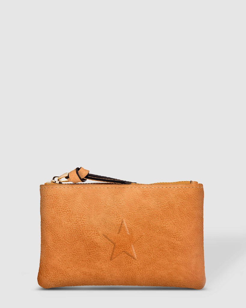 Load image into Gallery viewer, LOUENHIDE STAR PURSE - NUTMEG