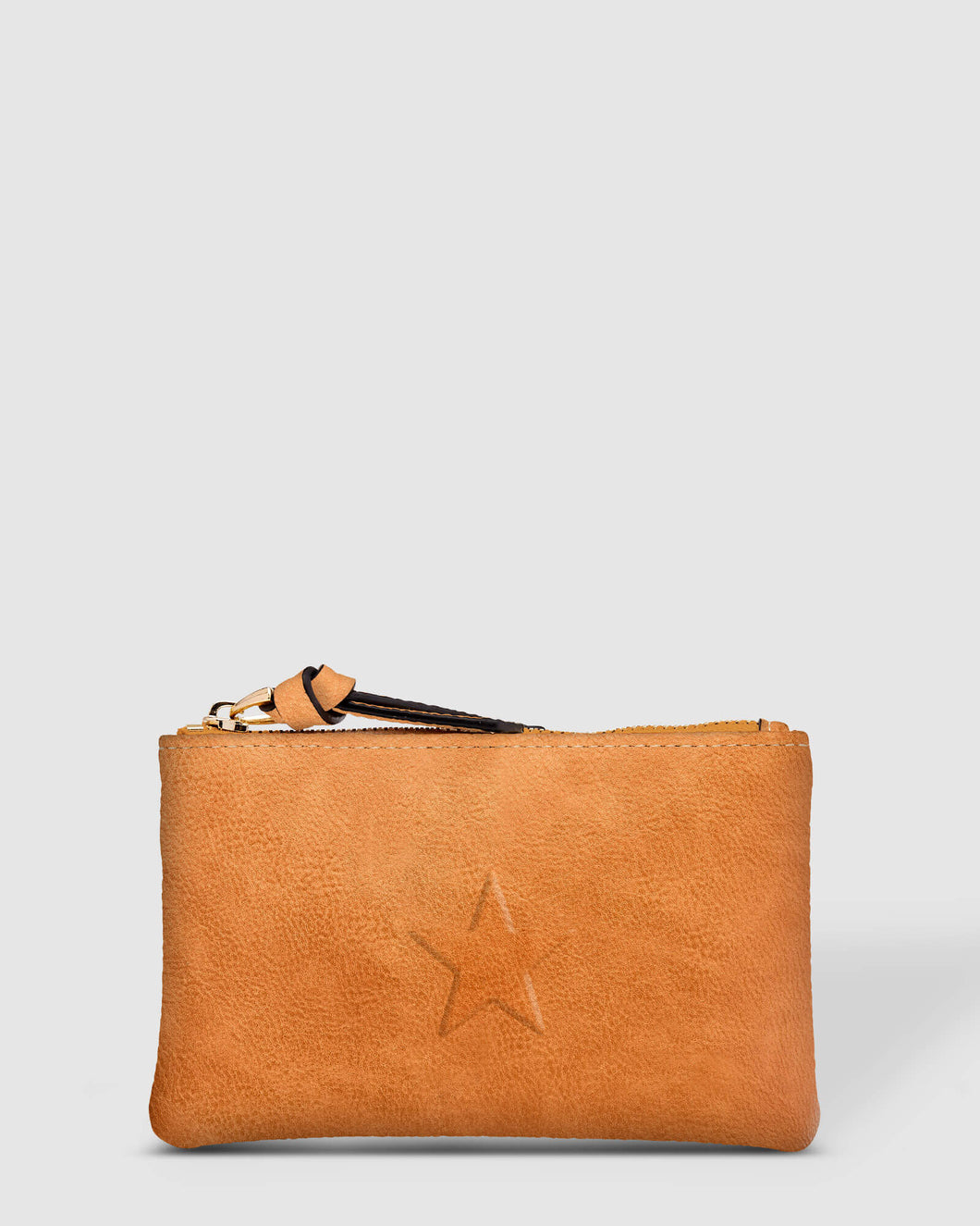 LOUENHIDE STAR PURSE - NUTMEG