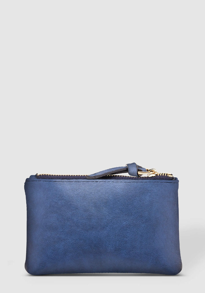 LOUENHIDE STAR PURSE - STEEL BLUE