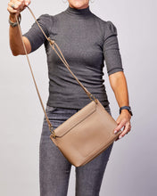 Load image into Gallery viewer, LOUENHIDE BABY BLAZE CROSSBODY BAG - COFFEE