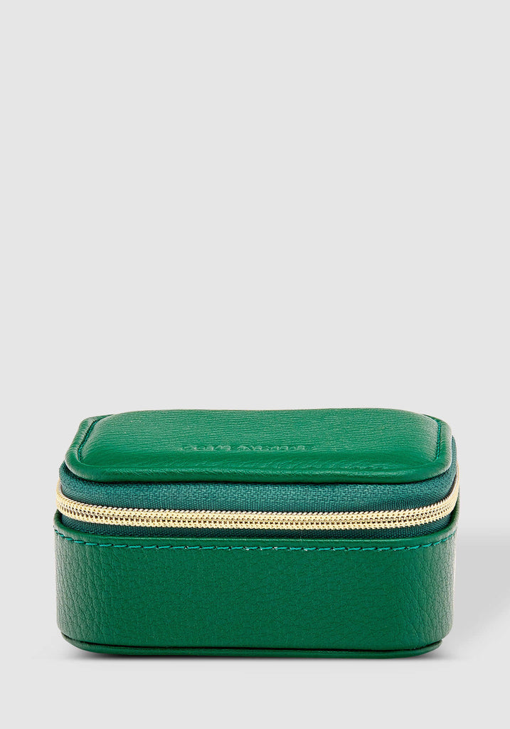Load image into Gallery viewer, LOUENHIDE SUZIE JEWELLERY BOX - GREEN