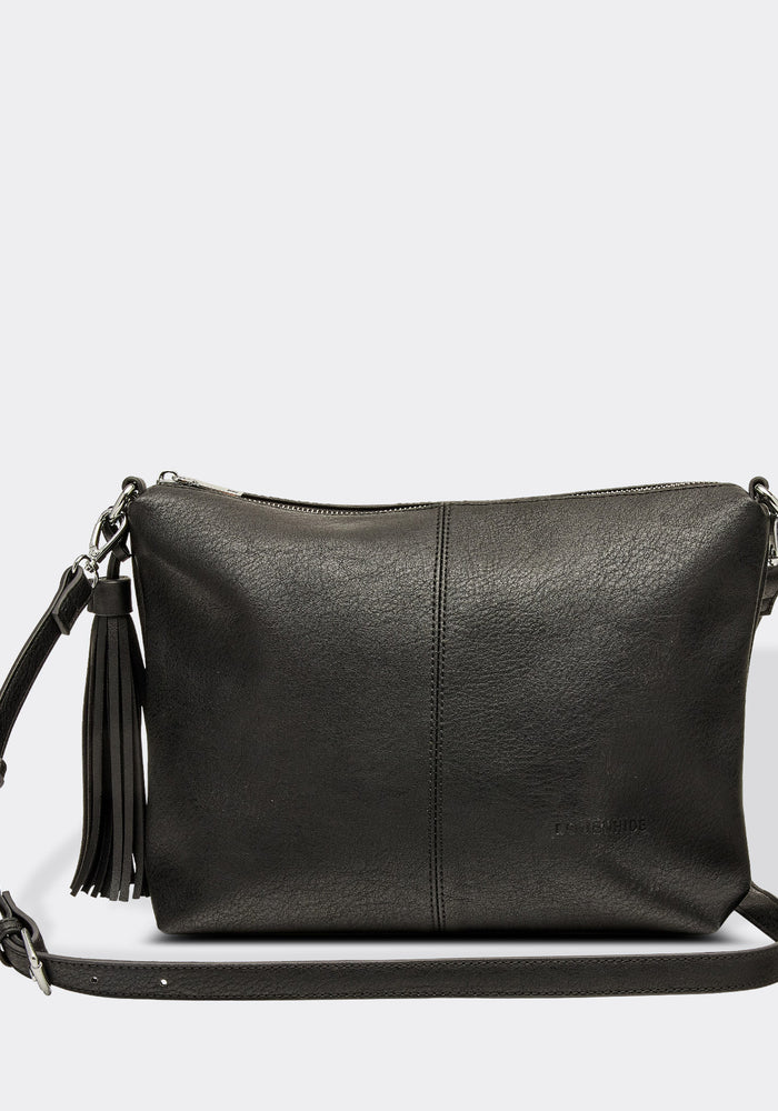 LOUENHIDE DAISY CROSSBODY BAG - BLACK