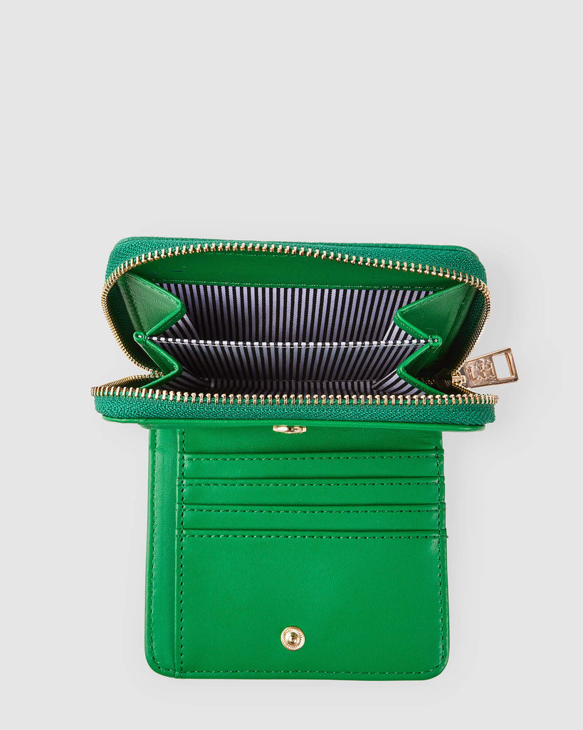 Load image into Gallery viewer, LOUENHIDE BRIDGET WALLET - GREEN