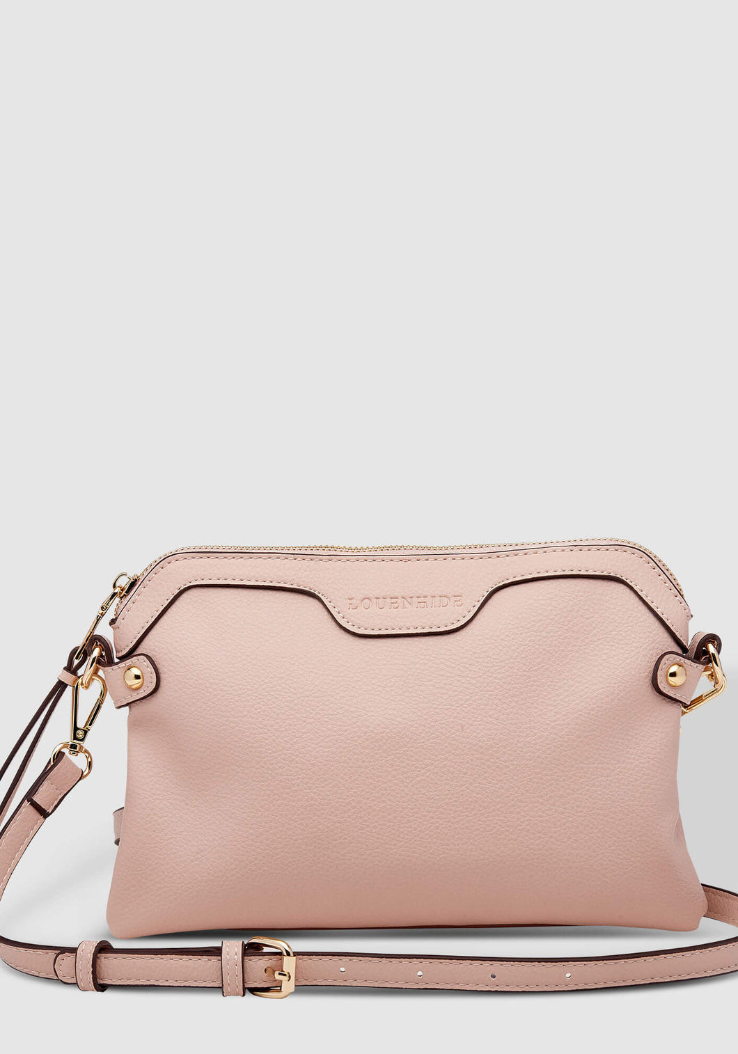 LOUENHIDE ARABELLA PALE PINK CROSSBODY BAG