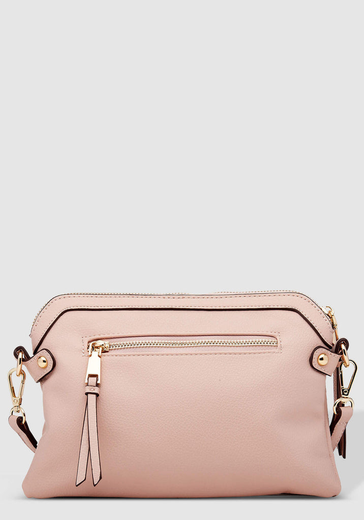 Load image into Gallery viewer, LOUENHIDE ARABELLA PALE PINK CROSSBODY BAG
