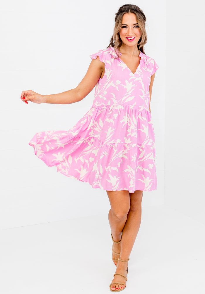 Load image into Gallery viewer, AMALIE PRINT TIERED DRESS