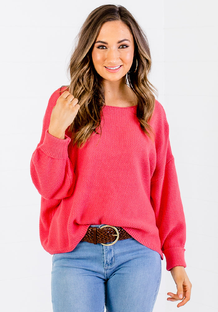 BAILEY KNIT - CORAL