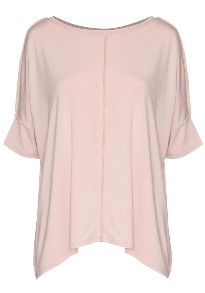 Load image into Gallery viewer, BAMBOO STELLA SLOUCH TEE - BLUSH