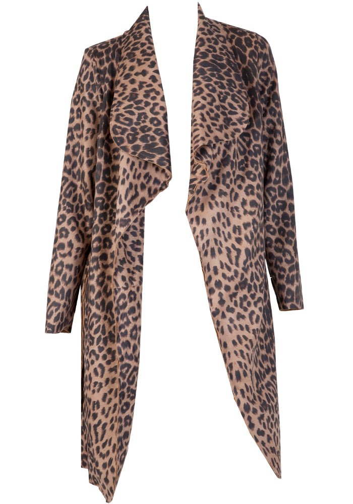 Load image into Gallery viewer, BLAIR STRETCH LEOPARD JACKET