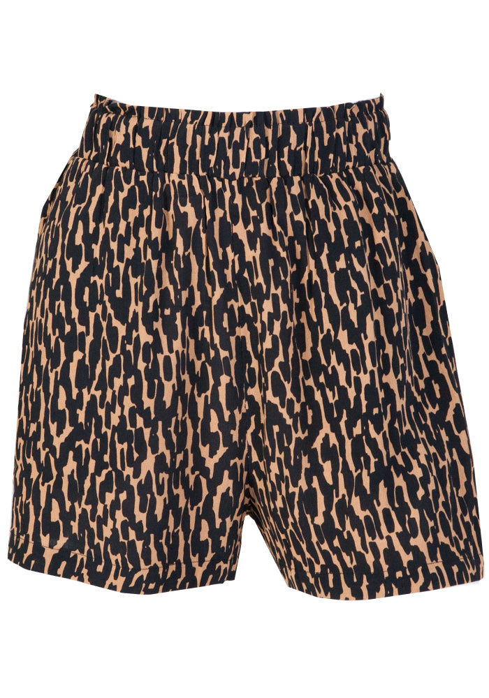 Load image into Gallery viewer, CAMILLE ANIMAL PRINT SHORTS