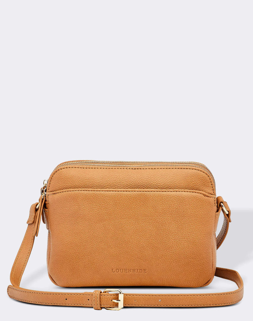 Load image into Gallery viewer, LOUENHIDE CICI CROSSBODY BAG- CAMEL