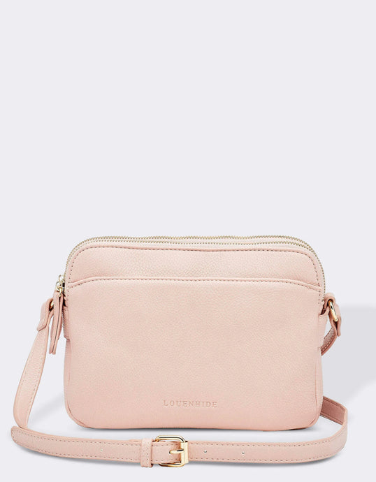 LOUENHIDE CICI CROSSBODY BAG- DUSTY PINK