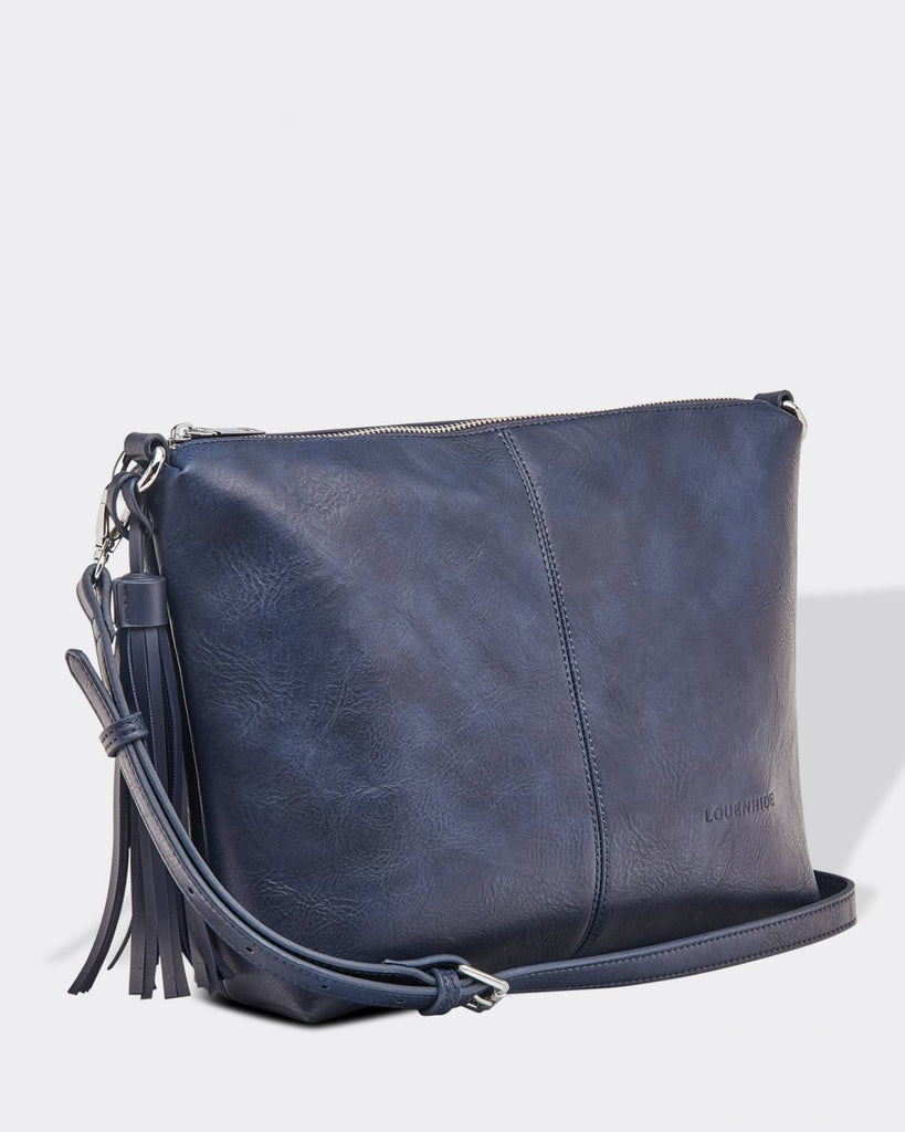 Load image into Gallery viewer, LOUENHIDE DAISY CROSSBODY BAG - NAVY