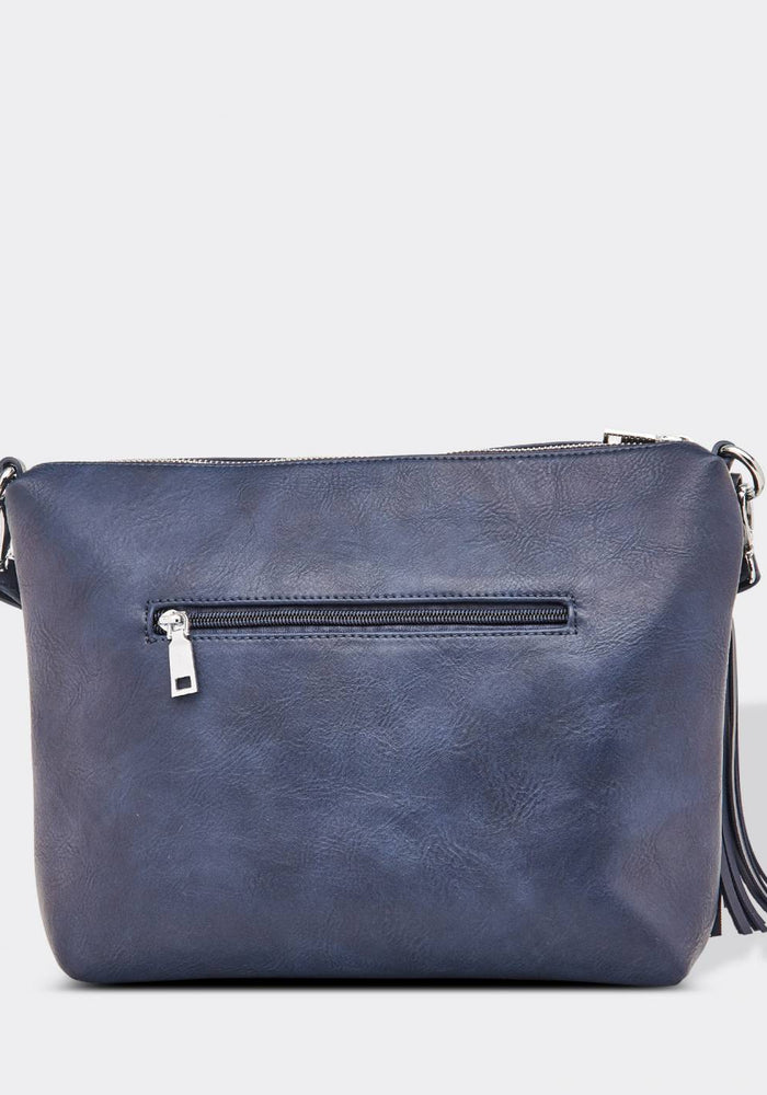 LOUENHIDE DAISY CROSSBODY BAG - NAVY