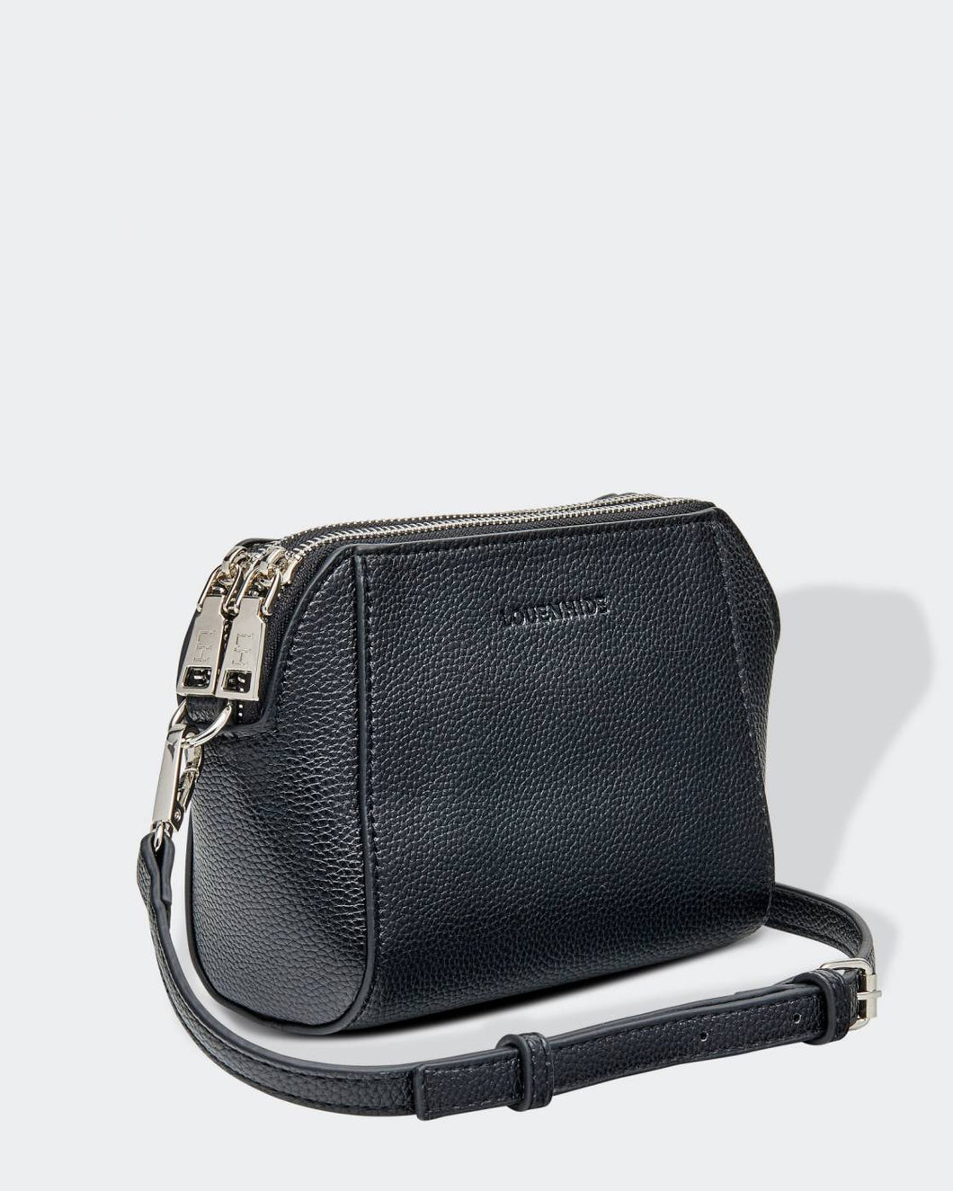 LOUENHIDE ERIKA CROSSBODY BAG - BLACK