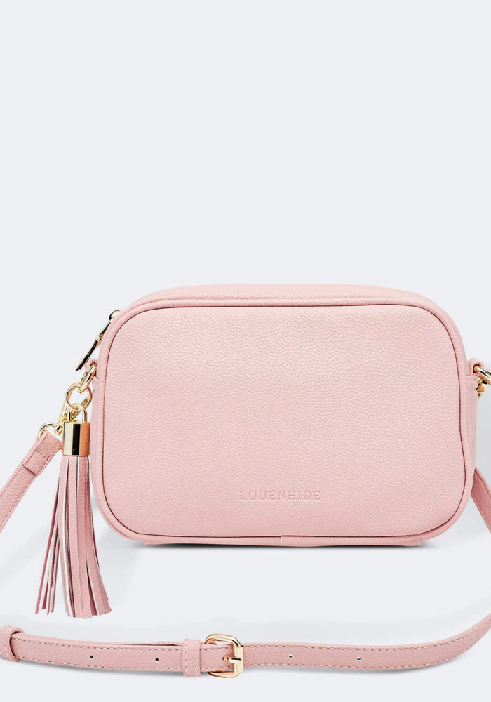 LOUENHIDE GIGI CROSSBODY BAG- PALE PINK