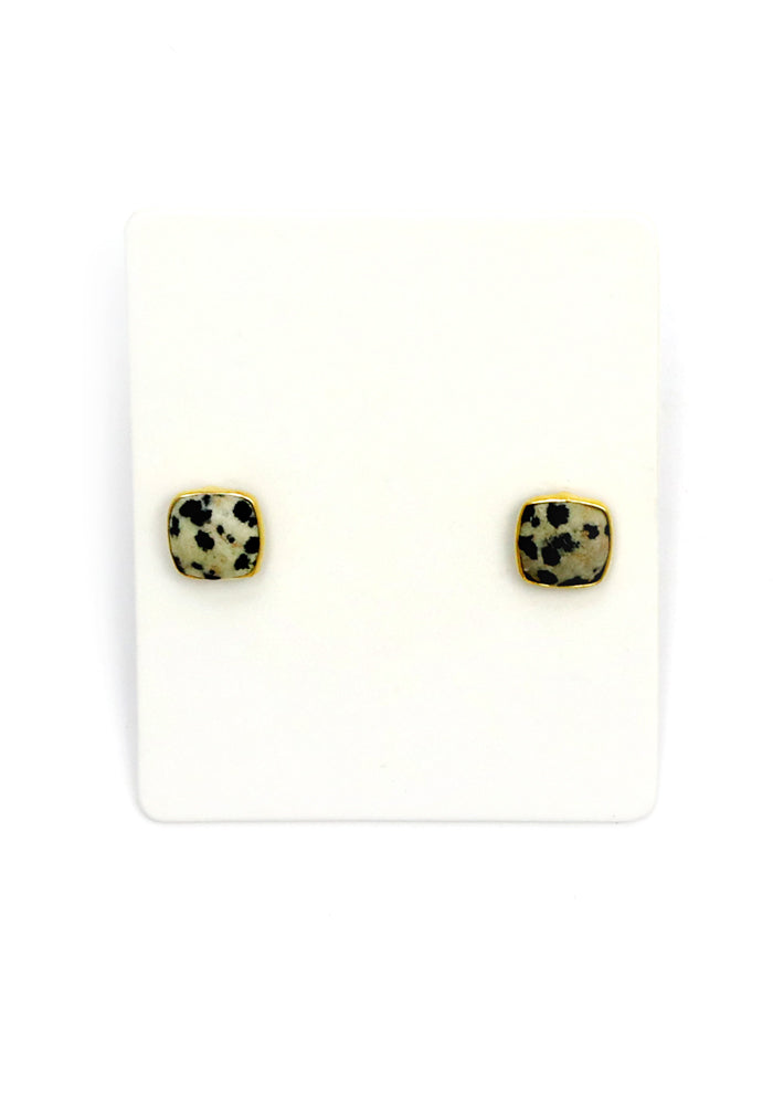 SPECKLE STONE STUD