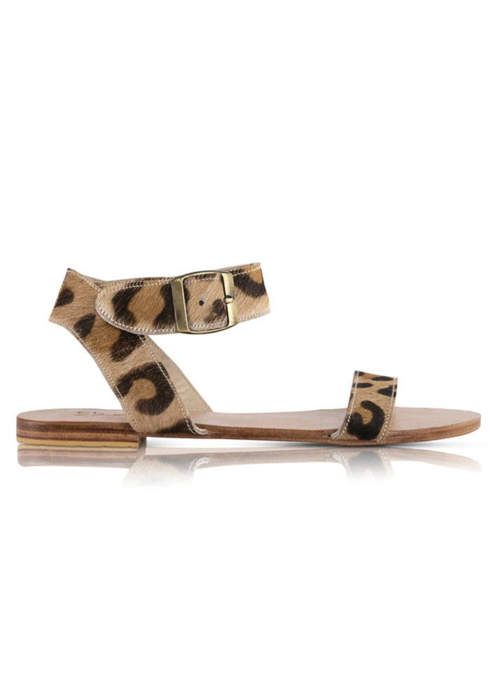 Load image into Gallery viewer, EL ZAPATO - LEO SANDALS - LEOPARD