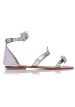 Load image into Gallery viewer, EL ZAPATO - LOLA SANDALS - SILVER