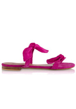 Load image into Gallery viewer, EL ZAPATO - LULU SANDALS - BRIGHT PINK