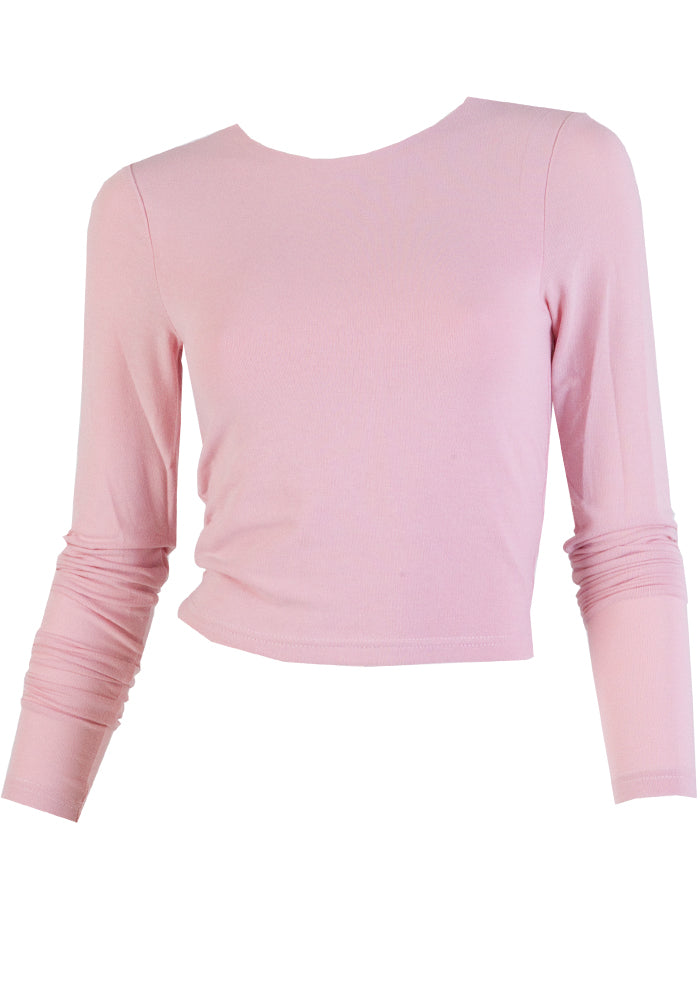 Load image into Gallery viewer, MAISIE FITTED CROP STRETCH CROP - PINK