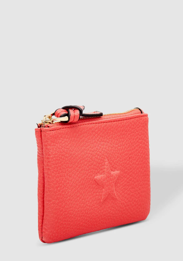 LOUENHIDE STAR PURSE MELON