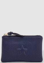 Load image into Gallery viewer, LOUENHIDE STAR PURSE NAVY
