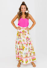 Load image into Gallery viewer, NERIDA FRILL DETAIL FLORAL MAXI SKIRT