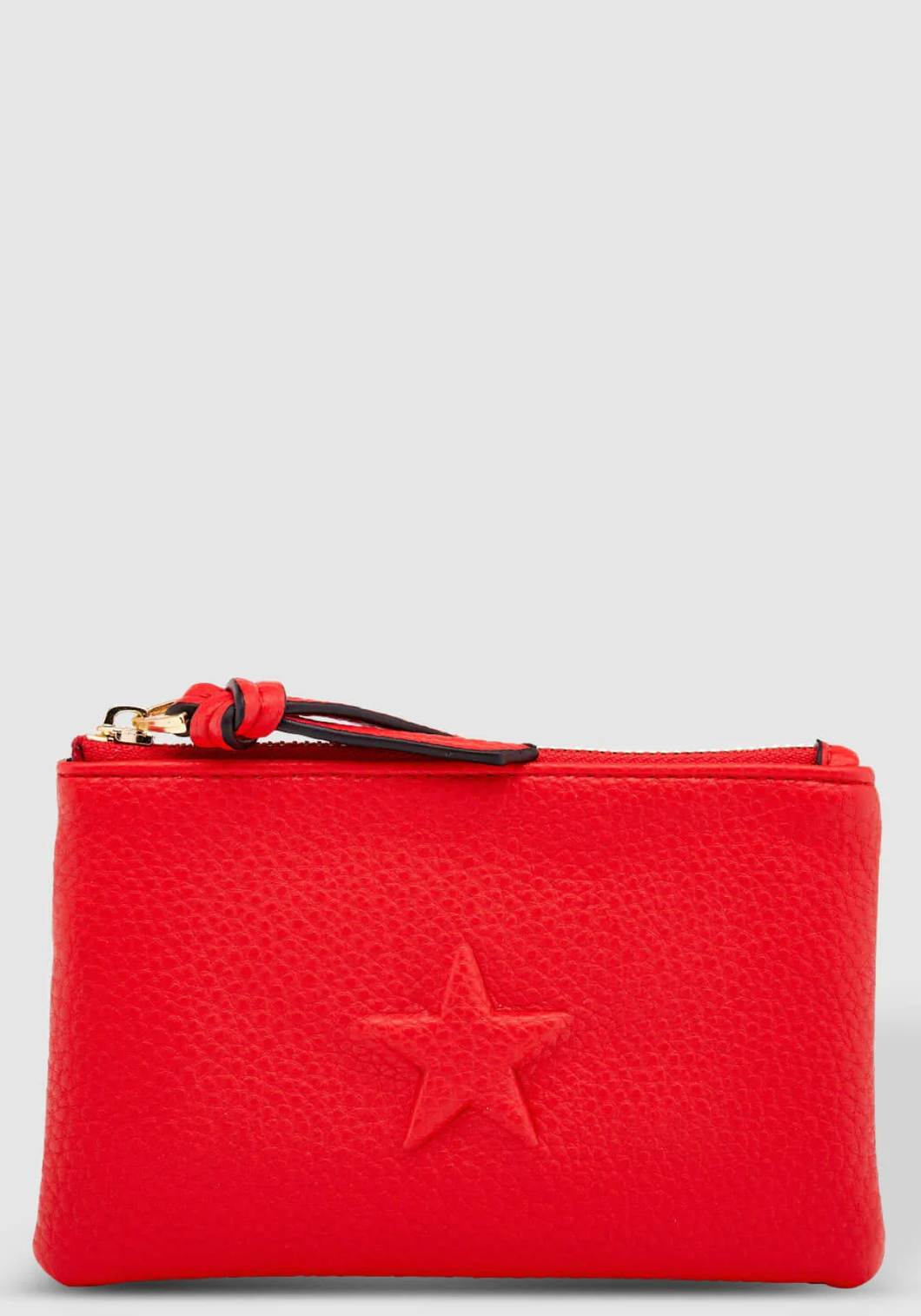 LOUENHIDE STAR PURSE RED