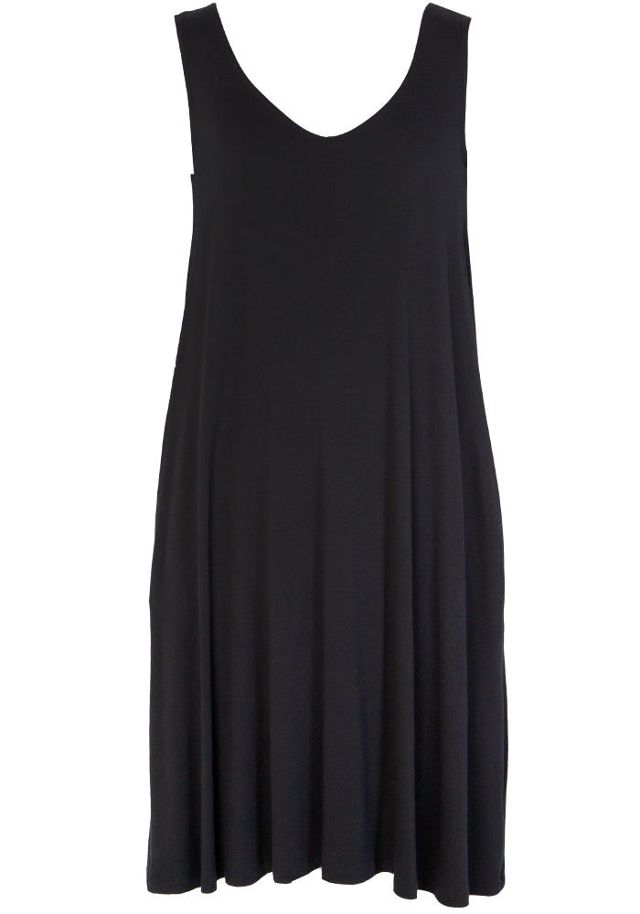 Load image into Gallery viewer, BETTY BASICS SALI DRESS - CLASSIC BLACK