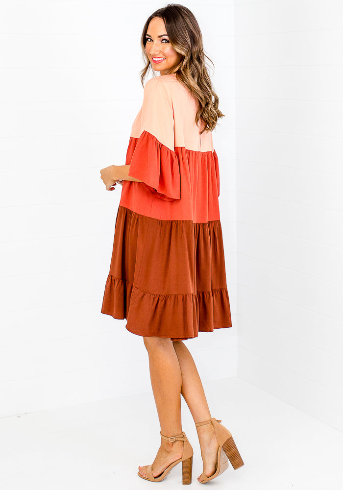 CARMEN SPLICED TIERED MINI