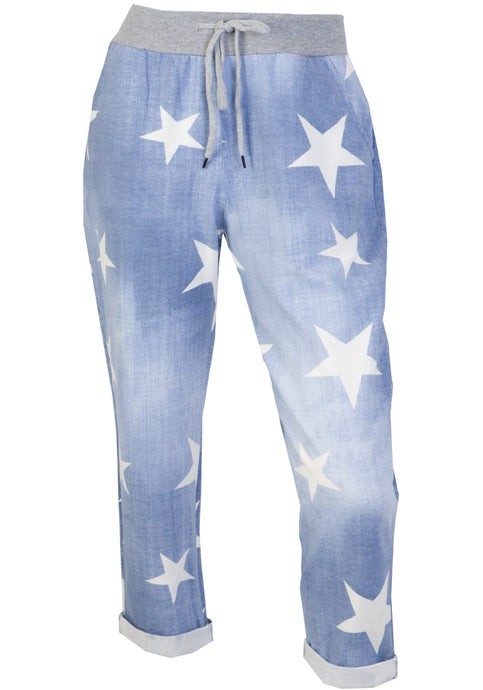 ALL STAR PULL ON PANTS - LIGHT WASH