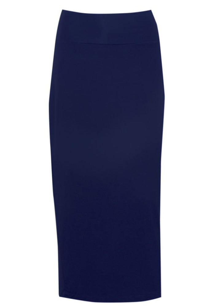 Load image into Gallery viewer, BAMBOO WHITNEY MAXI SKIRT - CLASSIC NAVY
