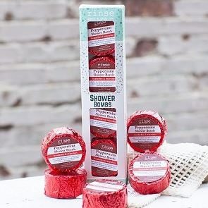 4 Pack Shower Bomb Box- Peppermint