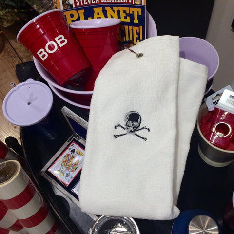 Skull & Bones Golf Towel