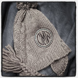 Cable Knit Hat, Monogrammed