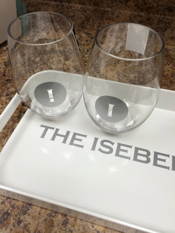 Acrylic Stemless Glass, Personalized