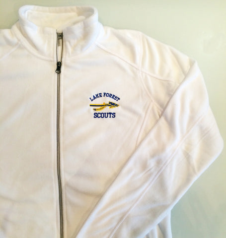 LFHS Microfleece Ladies Jacket in White