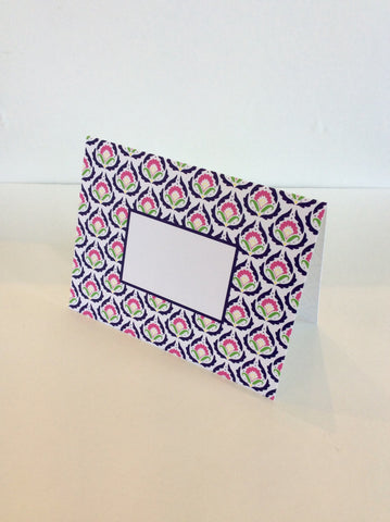 Fold-Over Notes with Pattern Border